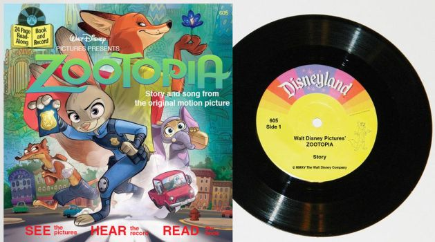 Retro Zootopia book and audio read along! by WileE2005