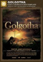 Golgotha Church Flyer Template by loswl