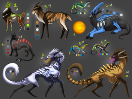 Adoptable Batch.5 - All Sold by Onyxwings