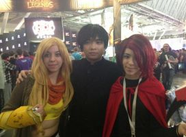 Pax East RWBY cosplay by Himekat321