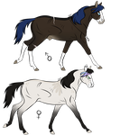 Horses Adopts [closed] by Escaboo-Adopts
