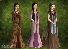 Tyrion Lannister's Ladies by disneyfanart1998