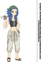 Levy lineart - colour finished by Kuroranzuki