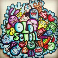 Old school doodle by myrt-SHINee