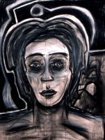 charcoal lady FULL by fatalicon