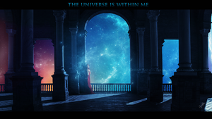The universe is within me by GeneRazART