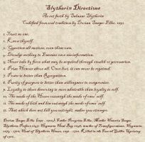 Slytherin Directives by drizzledrain