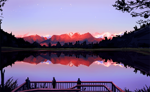 Lake Matheson by AngHuiQing