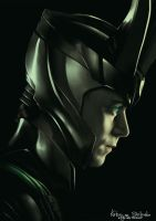 Tom Hiddleston: Loki by Lady-Werewolf
