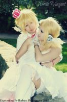 Vocaloid2: White Love by GoddessOfDarkness07