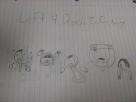 Left 4 Dead Infected Doodles by tyranno-tycoon