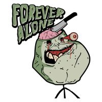 Forever Alone Zumbi by filipelucas2