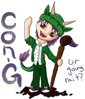 Con-G: Are you going? by Kia-arra