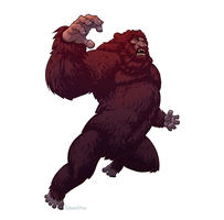 Bigfoot from Six Million Dollar Man by pungang