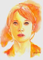 Pepper Potts by MariaBruggeman