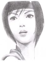 Yuffie by justMelody
