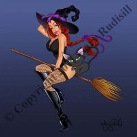 Darlin Nikki Halloween Witch by ariess