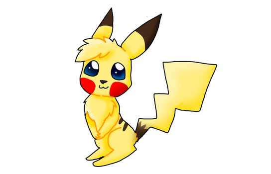 Pikachu  by king-cupcakes