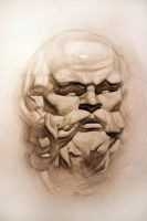 Socrates by mark-lastovsky