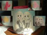 Elda and Freya Pot by sweetsnow73