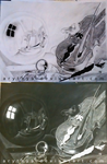 Still Life with Violin and Glass Ball - Inverted by Arythya