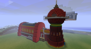 Minecraft Planet Express by project-offset