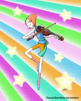 String Quartet-- Pearl by TexasUberAlles