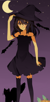 .:Halloween witch:. by Otromeru