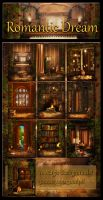 Romantic Dream backgrounds by moonchild-ljilja