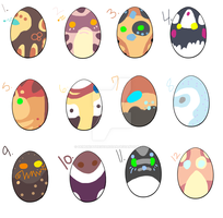 Egg adopts by DemoniaTheGuardian
