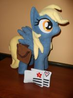 Derpy Hooves custom plush pony by MLPT-fan