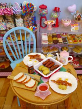 Breakfast at Littlest Sweet Shop by LittlestSweetShop