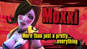 Moxxi Borderlands: The Pre-Sequel! by BL4UPUNKT