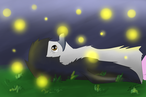 FireFlies by Icicle1penguin