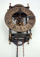 Antique Steampunk Clock -2- by LeafsStock