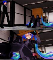 Miku Gear Solid: Perfect Stealth by ChilledCubchoo