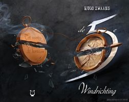 De 5e Windrichting - book cover by ElsaKroese