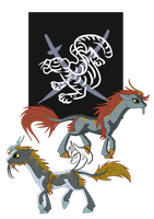 Kirin Clans: Tiger, Clan of Metal by ZenAquariaPony