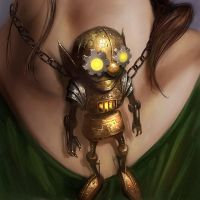 Clockwork Gnome Toy by PatrickMcEvoy
