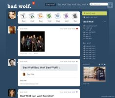 Bad Wolf vs. tumblr by Stassiana
