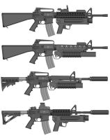 Dangerman's AR-15 collection by Dangerman-1973
