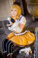 Tomoe Mami - Tea Party by cloeth