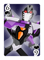 6 of Clubs Skywarp by Shioji-san