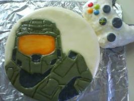 Halo cake by koo-ka-choo