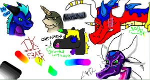OMG iscribble by btzonoya