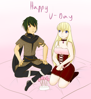 DAF-Happy V-Day by IxYukixI