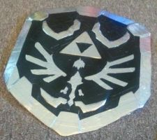 Dark link Shield by sackerhale