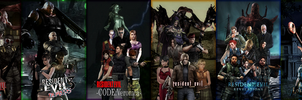 Resident Evil : Main Series by RPGxplay