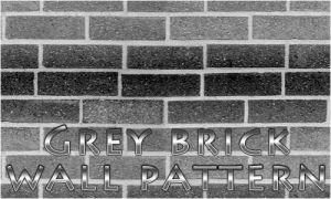 Grey Brick Wall pattern by Rizl4