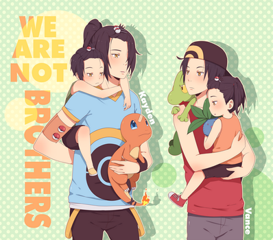 We are not brothers by ichan-desu